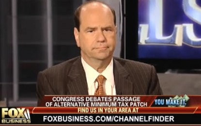 Andy discusses the impending tax increases on Fox Network
