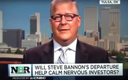 Jeff Bush shares his insights and market reaction to Steve Bannon leaving the Trump administration.