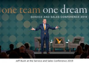 Jeff Bush at the Service and Sales Conference 2019